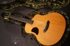 used McPherson 4.5 Ebony guitar inside case