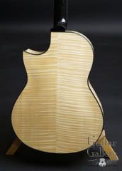 Greenfield C2 guitar maple back