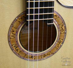 Greenfield C2 Nylon Jazz Guitar rosette