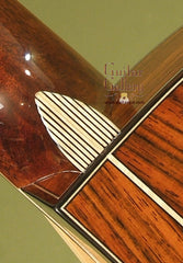 Maingard guitar custom heelcap