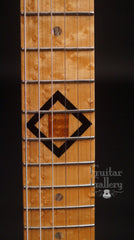 Brian Moore custom electric guitar birdseye maple fretboard