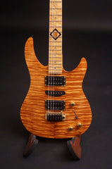 Brian Moore koa top electric guitar