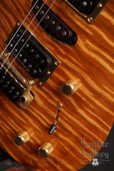 Brian Moore custom electric guitar controls