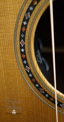 Martin CS-00s-14 Guitar rosette & pickup