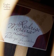 Rodrigo Moreira Guitar label