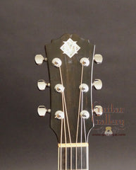 Morgan guitar headstock
