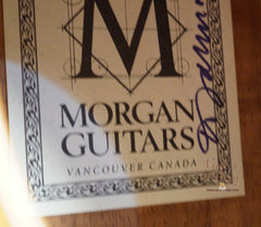 Morgan guitar