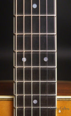 Mossman Great Plains Guitar fretboard