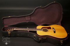 Mossman Great Plains Guitar inside case