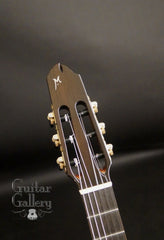 Maingard EK Crossover guitar headstock