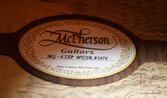McPherson MG-4.5XP Tiger Myrtle Guitar