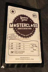 Newtone Master Class Phosphor Bronze Acoustic Guitar Strings