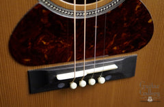 NK Forster tenor guitar bridge