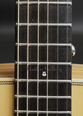 Roy Noble Dreadnought guitar fretboard