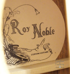 Roy Noble Dreadnought guitar label
