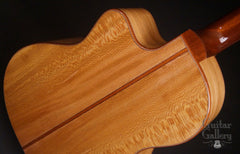 Noemi Wedge guitar figured sycamore back