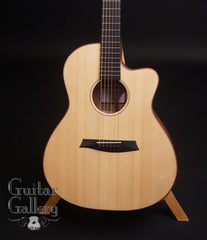 Noemi Wedge guitar Italian alpine spruce top