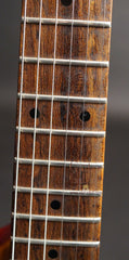 Buscarino Nova electric guitar fretboard