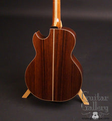 Olson SJ guitar back