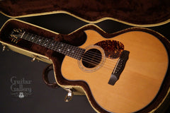 Olson SJ guitar inside case