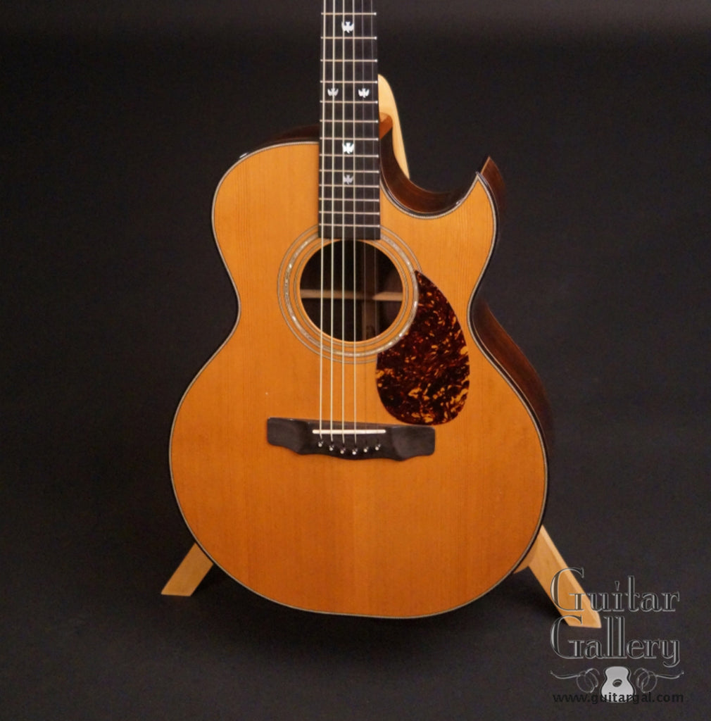 Olson SJ guitar Red Cedar top
