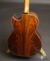 Brazilian rosewood Olson guitar back