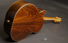 Brazilian rosewood Olson guitar full back