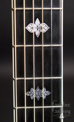 Colling guitar with engraved fretboard markers
