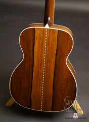 collings om3 madagascar rosewood guitar back