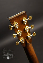 Collings OM3 guitar headstock back