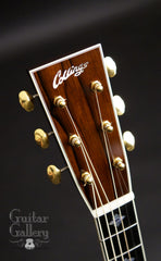 Collings OM guitar headstock