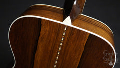 collings om3 madagascar rosewood guitar heel