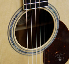 Collings OM3 guitar rosette