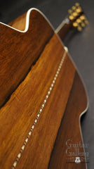 Collings OM3 with Madagascar rosewood back