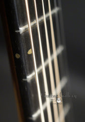 The Oneida guitar fretboard side