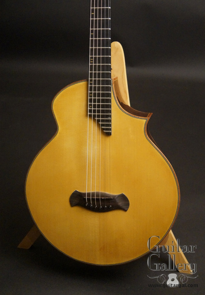 The Oneida guitar close view