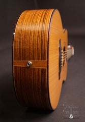 Olson SJ guitar end