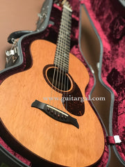used Osthoff Grand Parlor guitar inside case