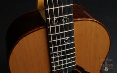 Osthoff Wenge Parlor guitar at Guitar Gallery