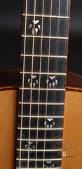 Osthoff Wenge Parlor guitar fretboard inlay