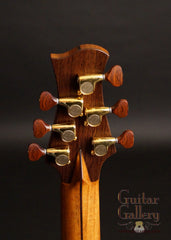Osthoff Wenge Parlor guitar headstock back plate