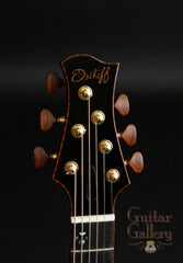 Osthoff Parlor Guitar headstock