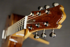 Oxwood guitar headstock