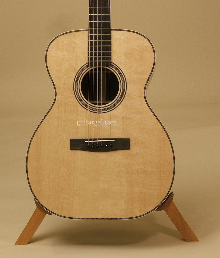 Huss & Dalton Guitar: Used African Blackwood Custom TOM