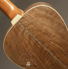 Froggy Bottom Guitar: P12 (Bastogne Walnut Parlor with Wider Nut & Saddle)