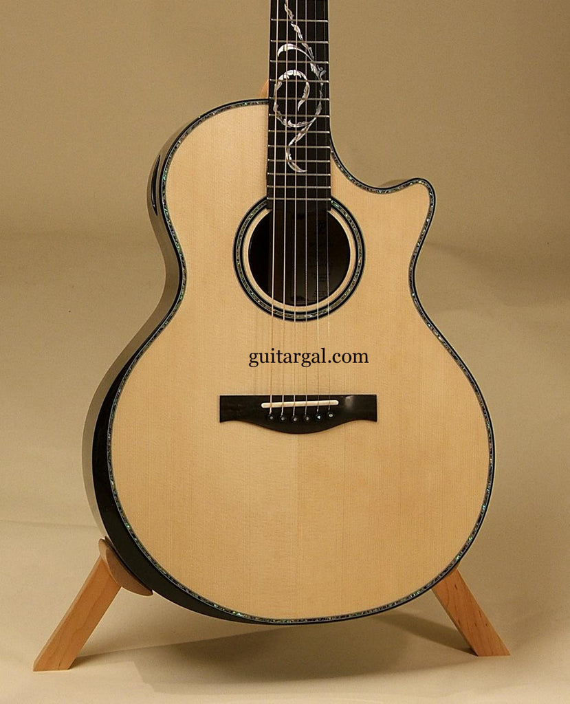DT Guitar: Used African Blackwood De La Rosa