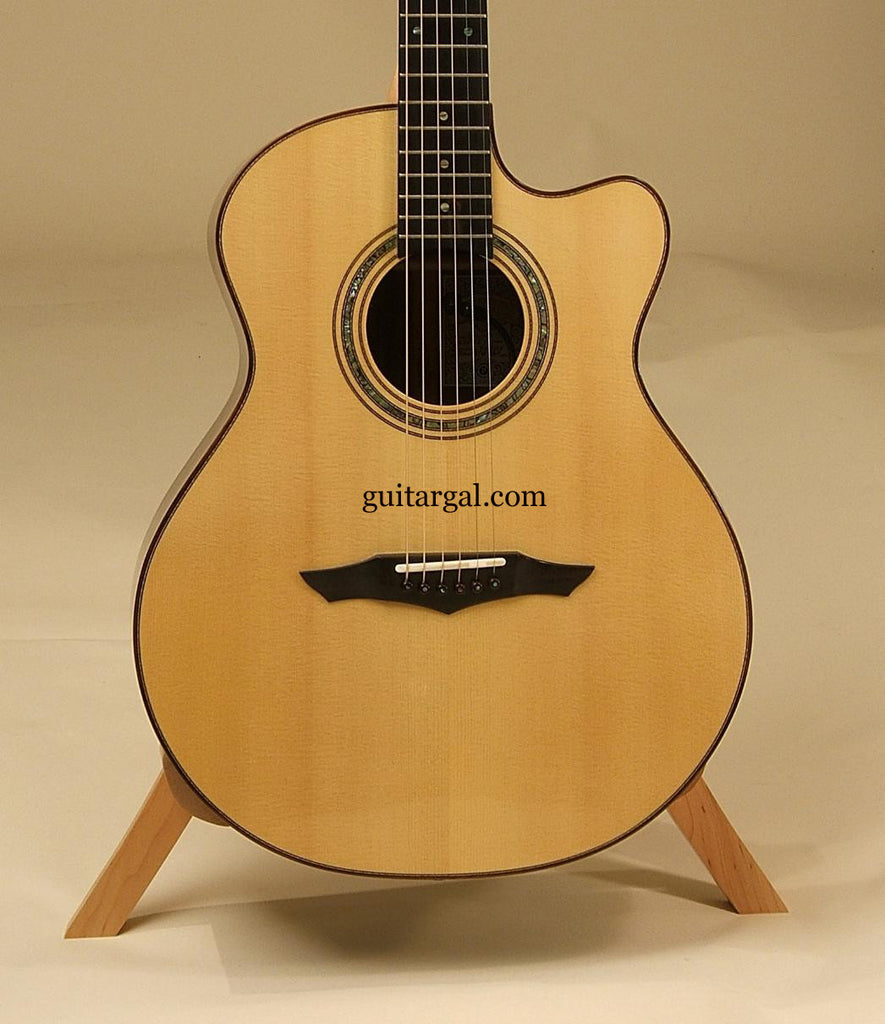 Petros Guitar: Used Macassar Ebony APPLECREEK GC