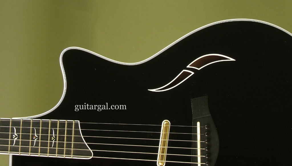 Taylor Guitar: Used Black T5-C – Guitar Gallery