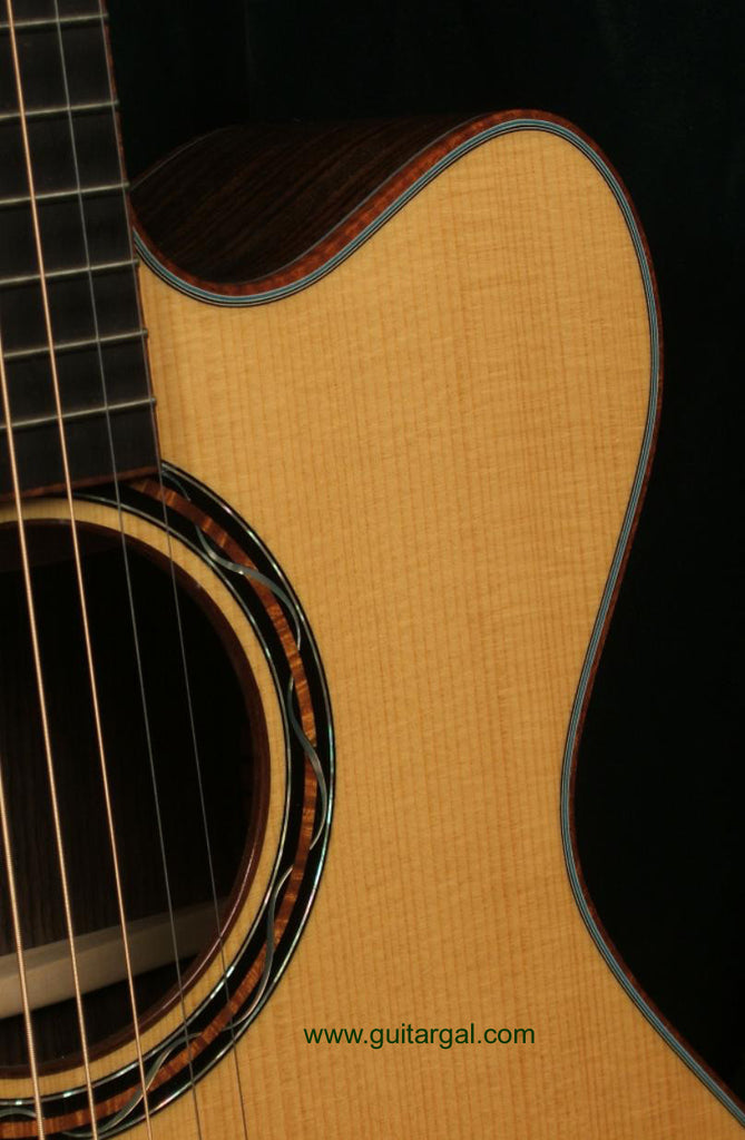 Kinscherff Guitar: Adirondack top High Noon C