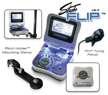 Peterson Accessories: Silver Stoboflip Tuner